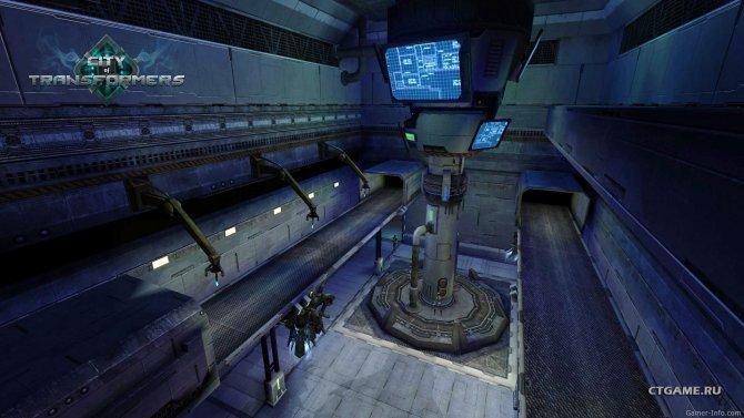Скриншот игры City of Transformers Online