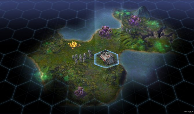 Скриншот игры Sid Meier's Civilization: Beyond Earth