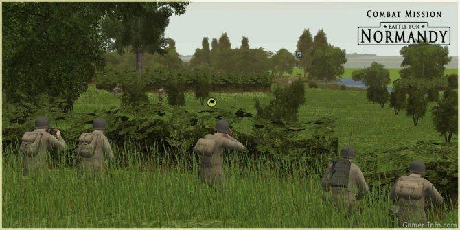 Скриншот игры Combat Mission: Battle for Normandy