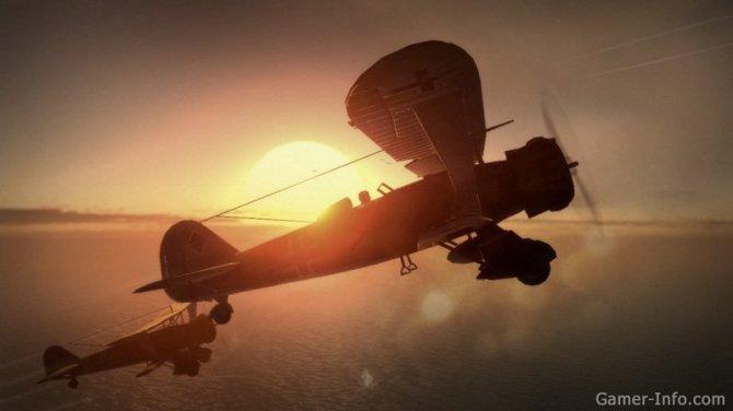 Скриншот игры Dogfight 1942