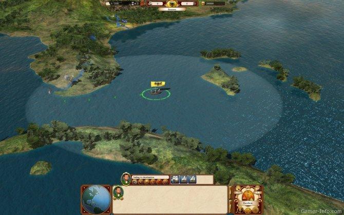 Скриншот игры Commander: Conquest of the Americas