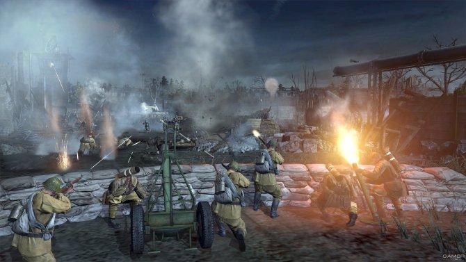 Скриншот игры Company of Heroes 2