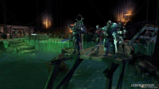 Скриншот игры Confrontation