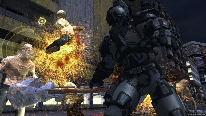 Скриншот игры Crackdown 2