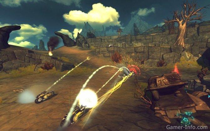 Скриншот игры Crasher