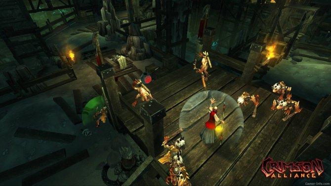 Скриншот игры Crimson Alliance