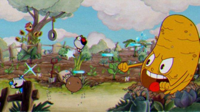 Скриншот игры Cuphead