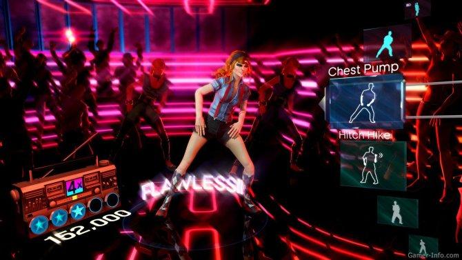 Скриншот игры Dance Central
