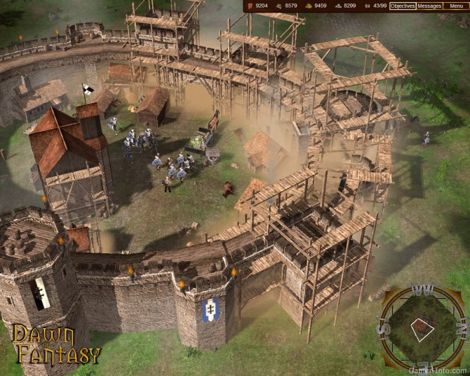 Скриншот игры Dawn of Fantasy