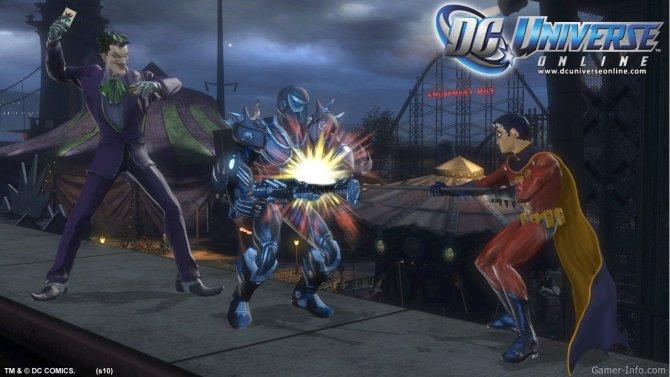Скриншот игры DC Universe Online