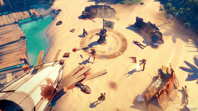 Скриншот игры Dead Island: Epidemic