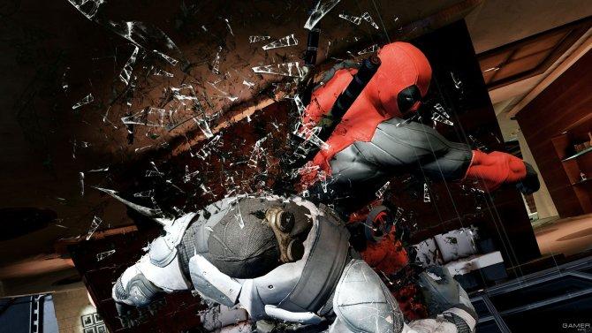 Скриншот игры Deadpool: The Game