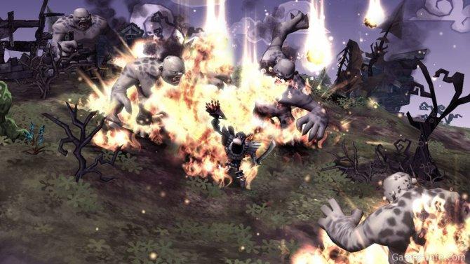 Скриншот игры DeathSpank