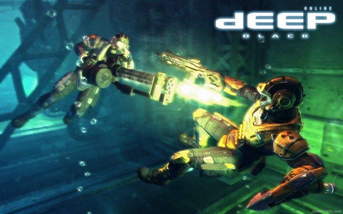Скриншот игры Deep Black Online