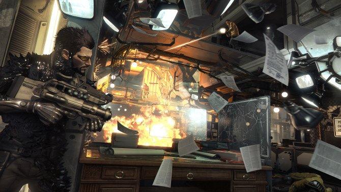 Скриншот игры Deus Ex: Mankind Divided