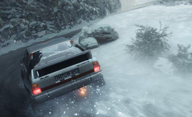Скриншот игры DiRT Rally