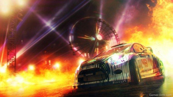 Скриншот игры DiRT Showdown