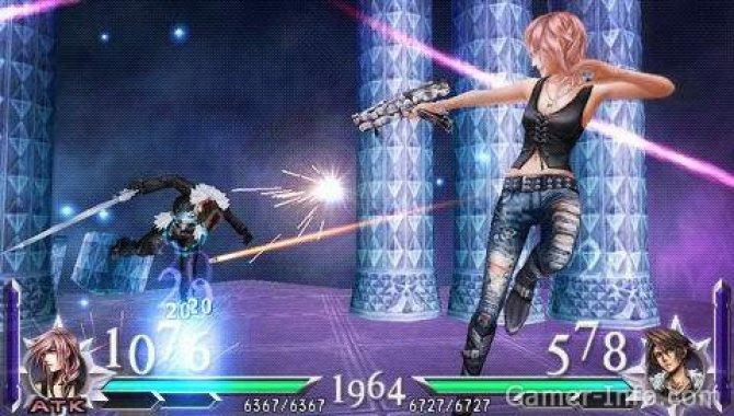 Скриншот игры Dissidia 012 [duodecim]: Final Fantasy