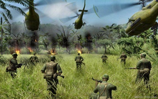 Скриншот игры Диверсанты: Вьетнам