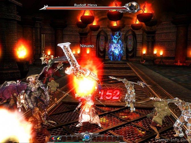 Скриншот игры Divine Souls
