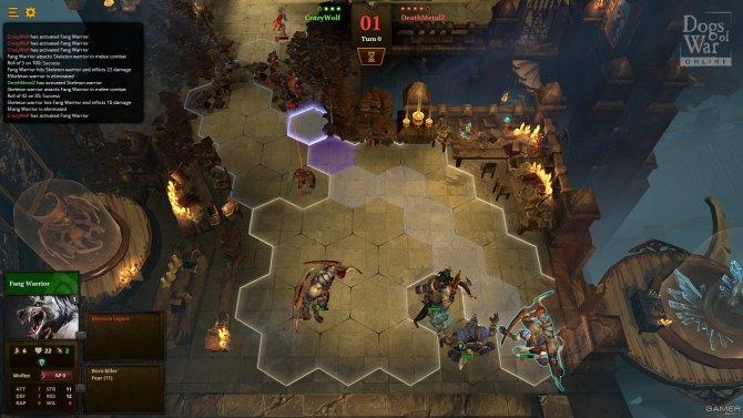 Скриншот игры Dogs of War Online