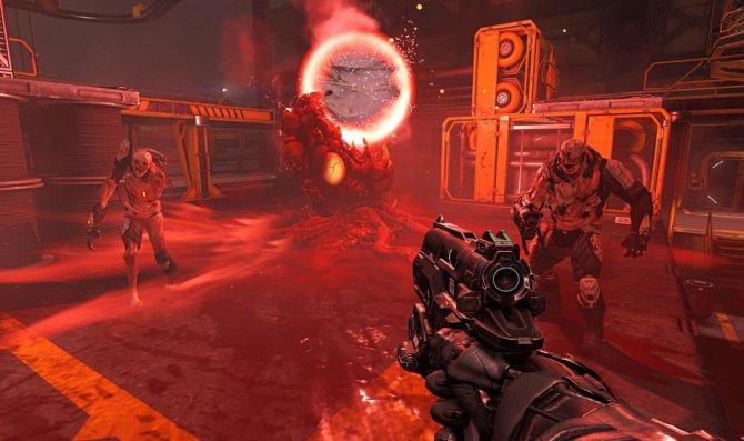 Скриншот игры Doom
