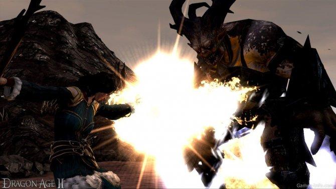 Скриншот игры Dragon Age II