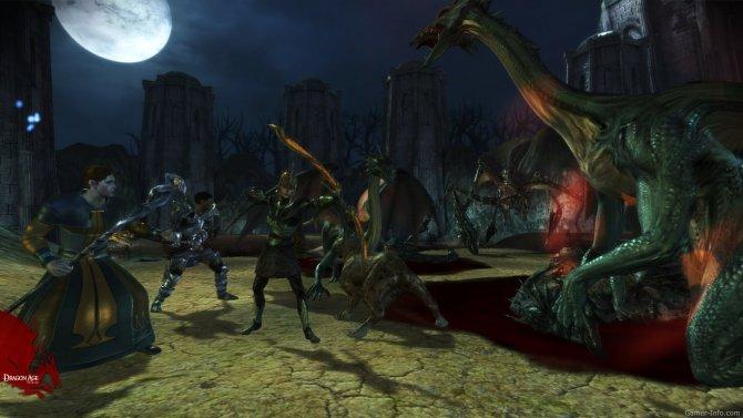 Скриншот игры Dragon Age: Origins