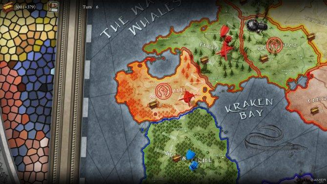 Скриншот игры Divinity: Dragon Commander