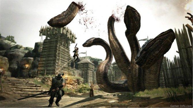 Скриншот игры Dragon's Dogma