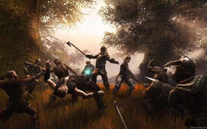 Скриншот игры Drakensang: The River Of Time