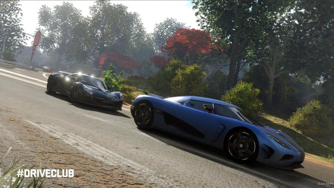 Скриншот игры DriveClub