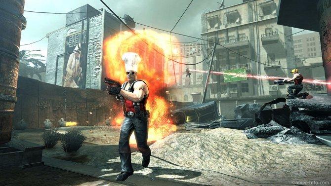 Скриншот игры Duke Nukem Forever