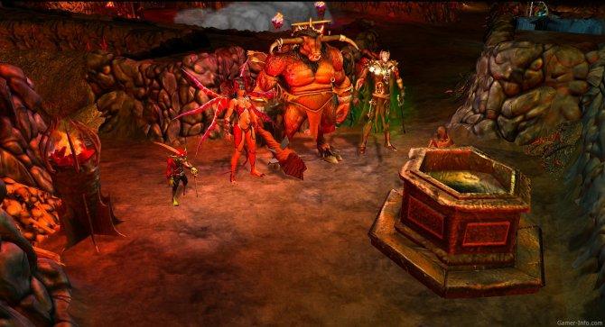Скриншот игры Dungeons: The Dark Lord