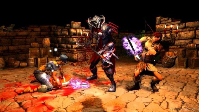 Скриншот игры Dungeons