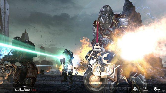 Скриншот игры Dust 514
