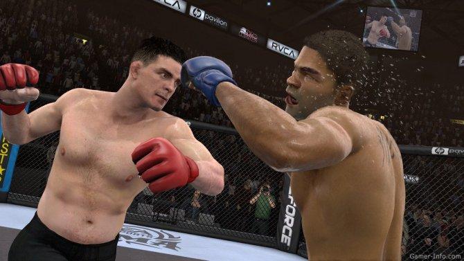 Скриншот игры EA Sports MMA