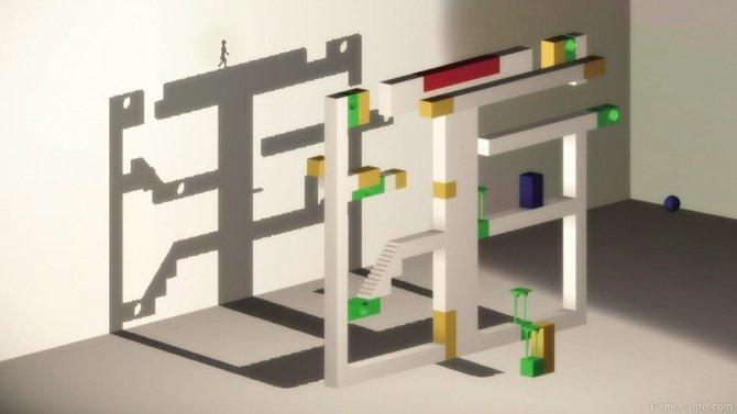Скриншот игры Echochrome II