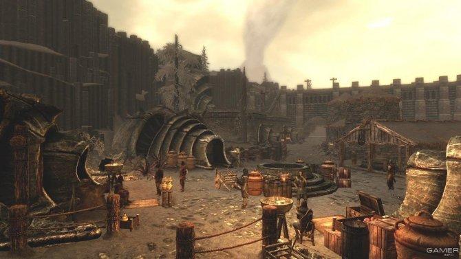 Скриншот игры The Elder Scrolls V: Skyrim