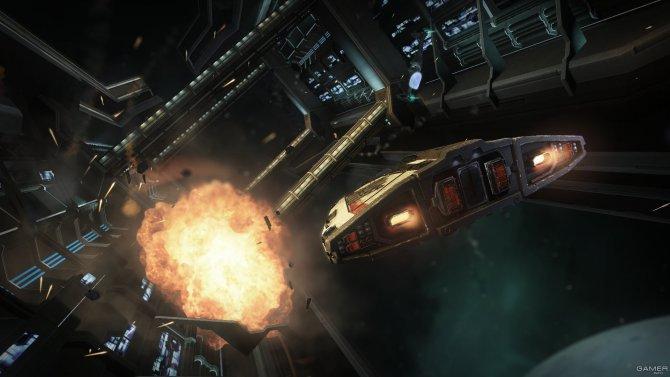 Скриншот игры Elite: Dangerous