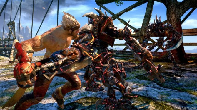 Скриншот игры Enslaved: Odyssey to the West