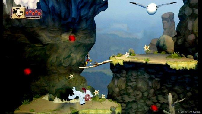 Скриншот игры Disney Epic Mickey