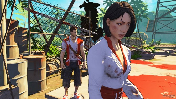 Скриншот игры Escape Dead Island