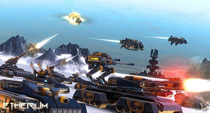 Скриншот игры Etherium