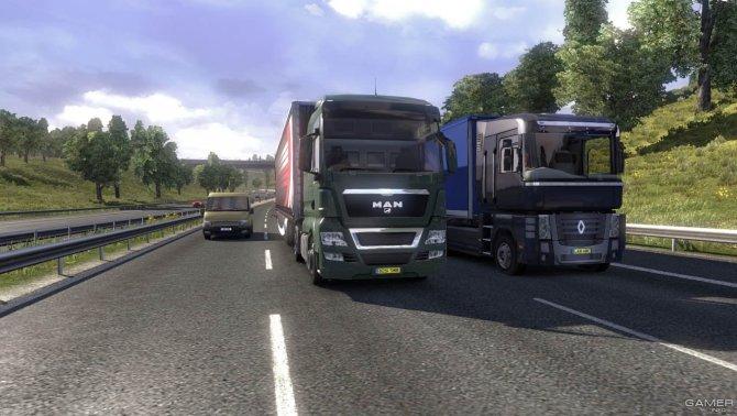Скриншот игры Euro Truck Simulator 2