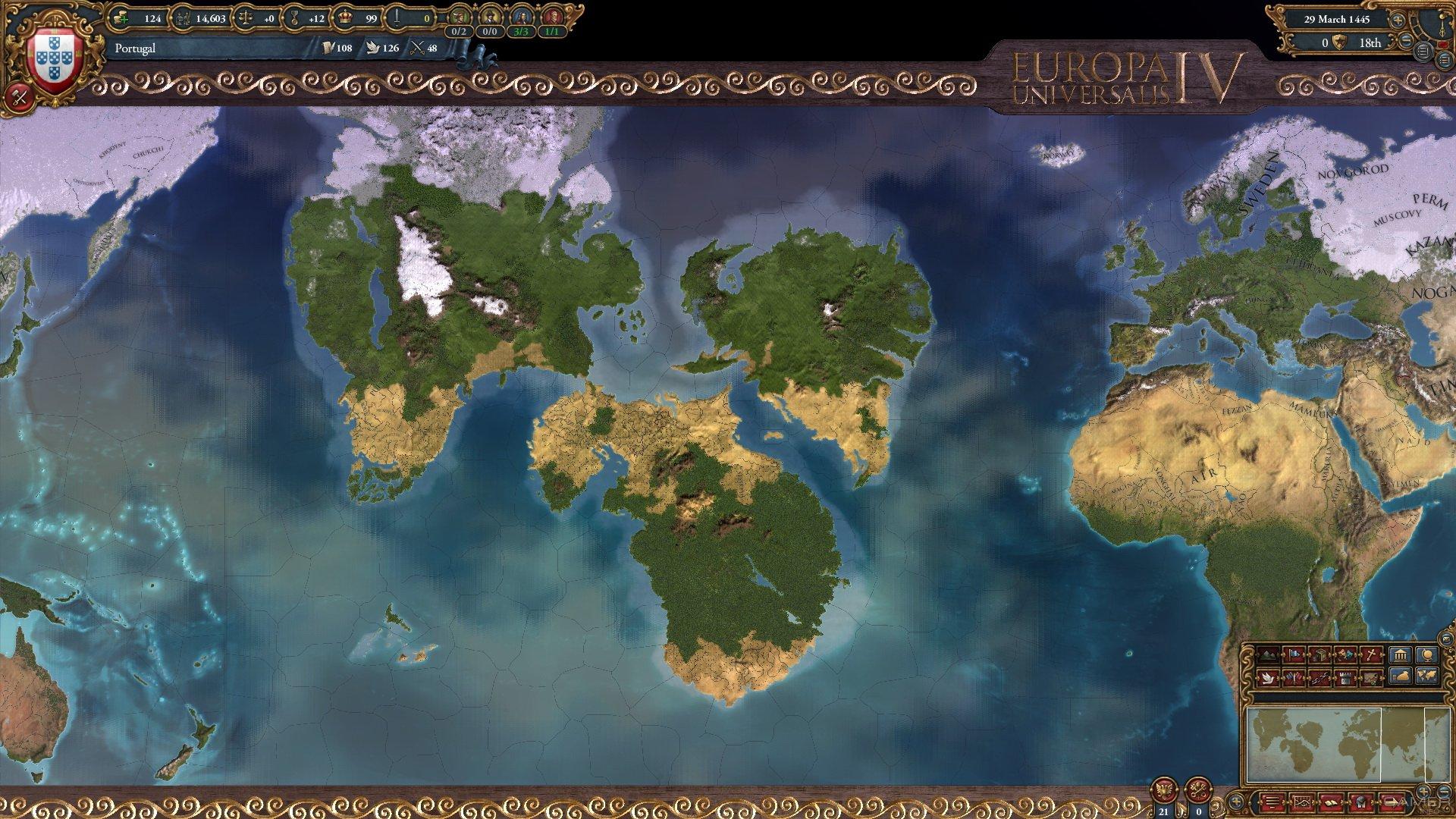 Europe Universalis 4 торрент