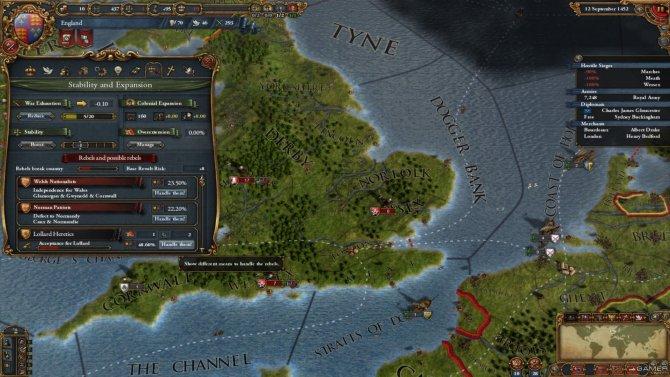 Скриншот игры Europa Universalis IV