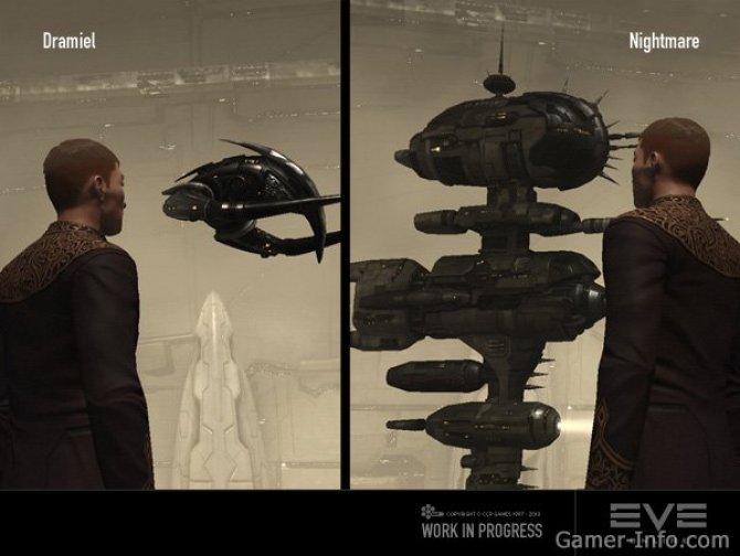 Скриншот игры EVE Online: Incarna