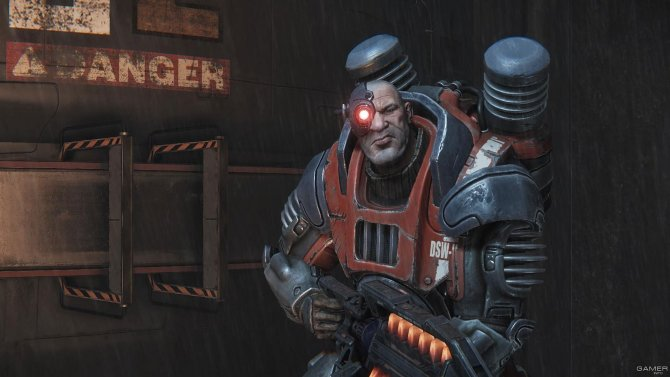 Скриншот игры Evolve