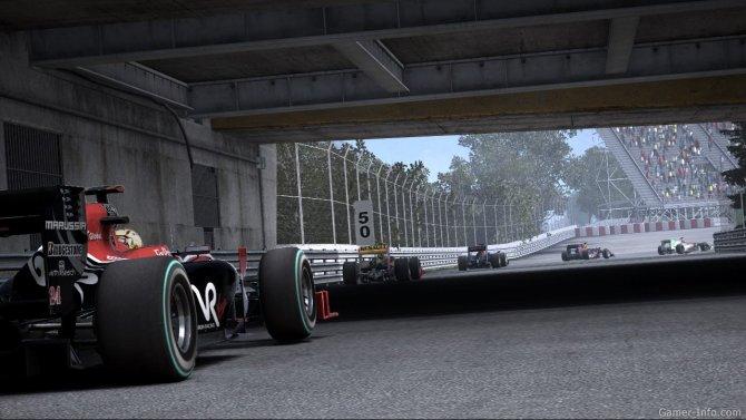 Скриншот игры F1 2010